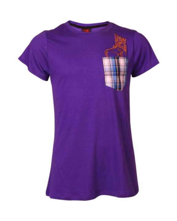 VESTIGE Printed T-shirt - Violet