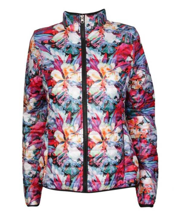 Global Impact Women's Quilted Jacket - Multi