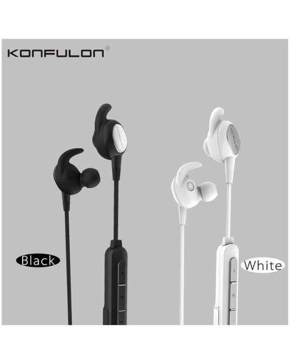 Konfulon BHS-03 Bluetooth Earphone - Black