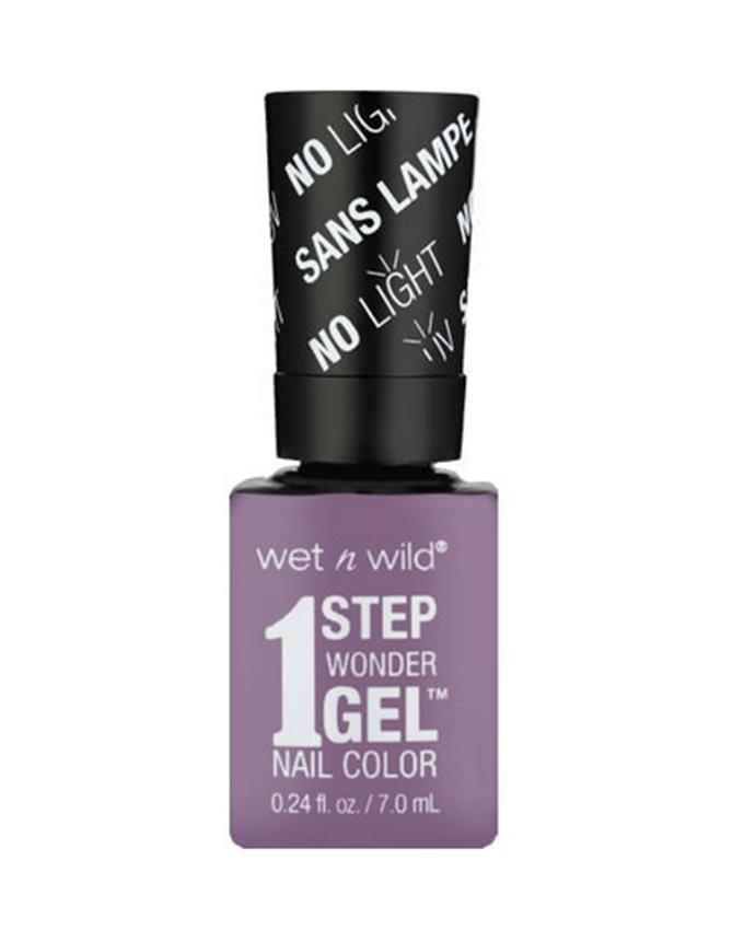 e6bc54d37e0d97 Wet n Wild 1 Step Wonder Gel Nail Color Left Marooned Color E7331 Color 7.0