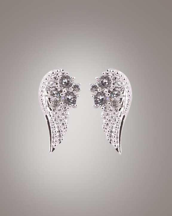 Swarovski Wing design dangle earrings