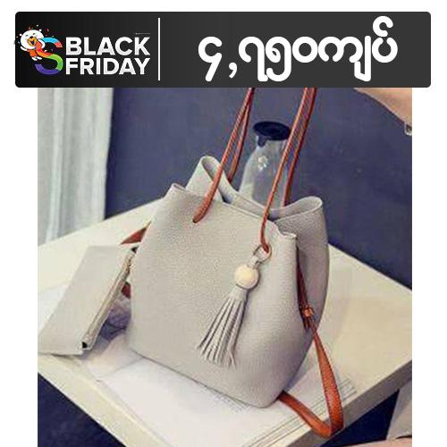 Basic Drawstring Bag for Women - Ivory 87dd2ab103