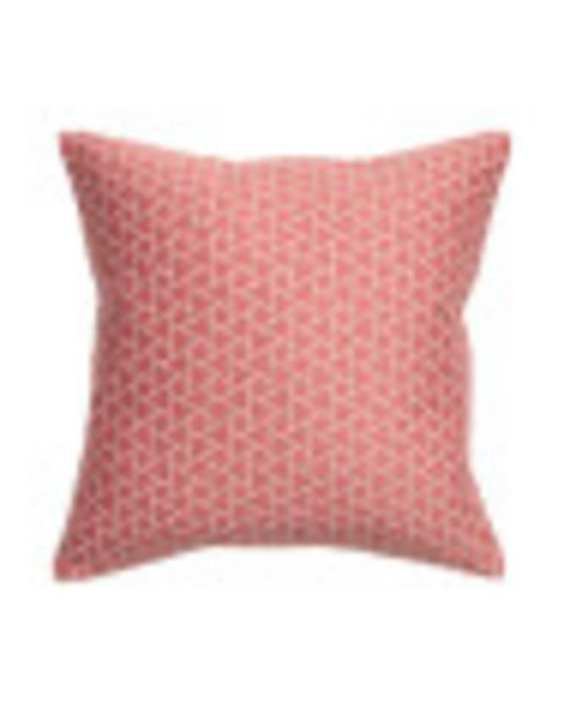 Modern House Pink Pattern Pillow Cover