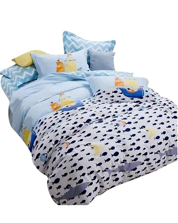 The Gift Bedding The Gift 4 Pieces Double Fitted with Quilt Cover (MS 50204)