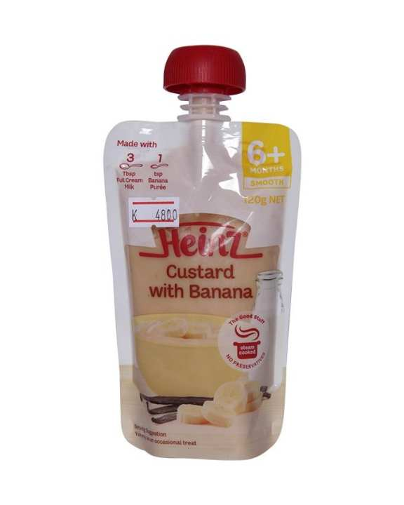 Heinz Custard with Banana (120 g)