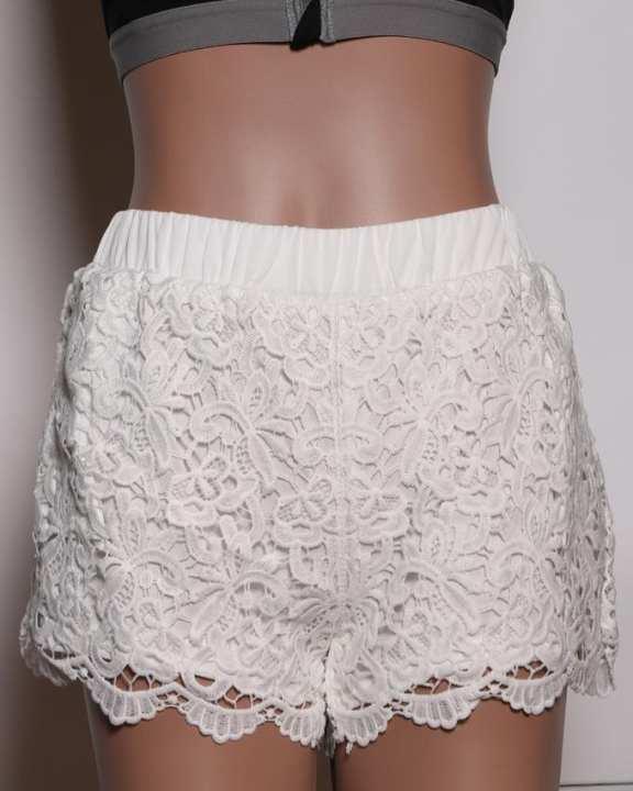 Bench Women's Short Pant - White