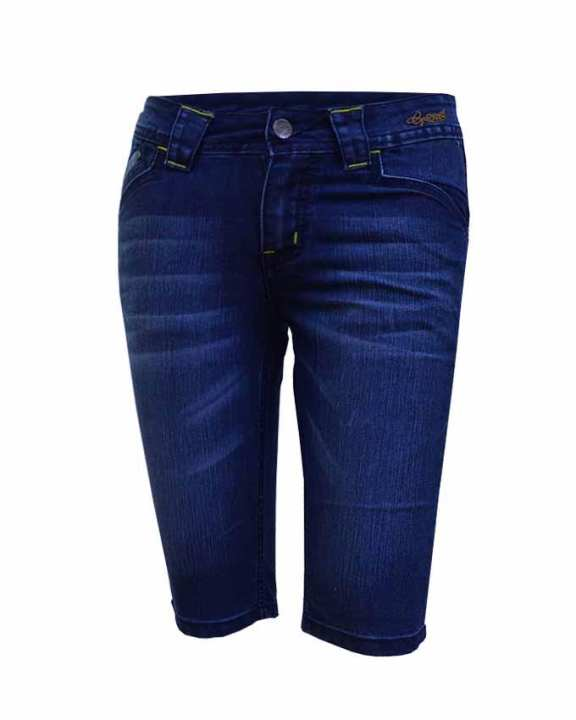 Lady Pants Bermuda-Blue