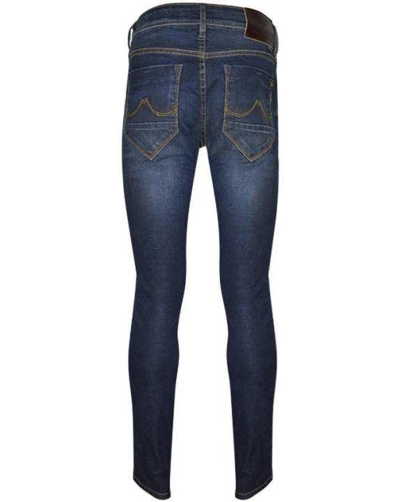 Men Long Pants - Super Skinny - Dark Blue