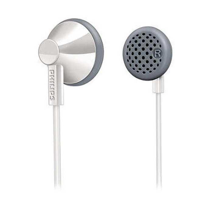 Philips SHE2001 In-Ear Headphones - White