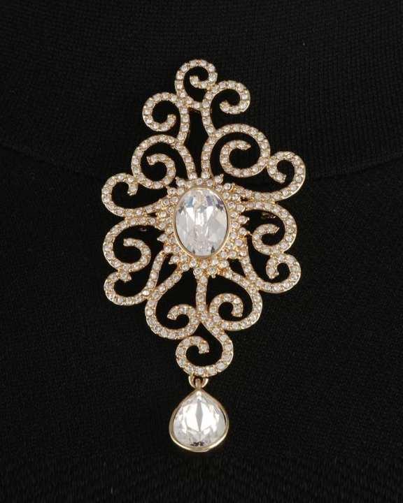 Paris Bijoux Diamond Drop Pendant or Brooch