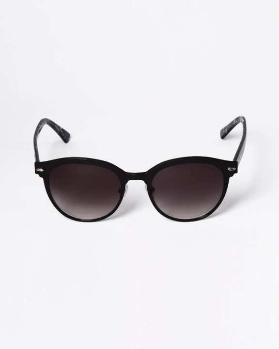 PAUL HUEMAN Special round sunglasses - Black
