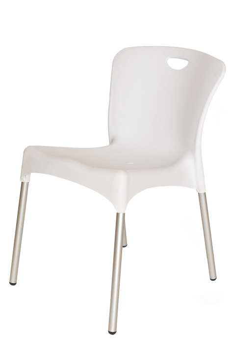 New World Plastic Chair YCD-42 - White