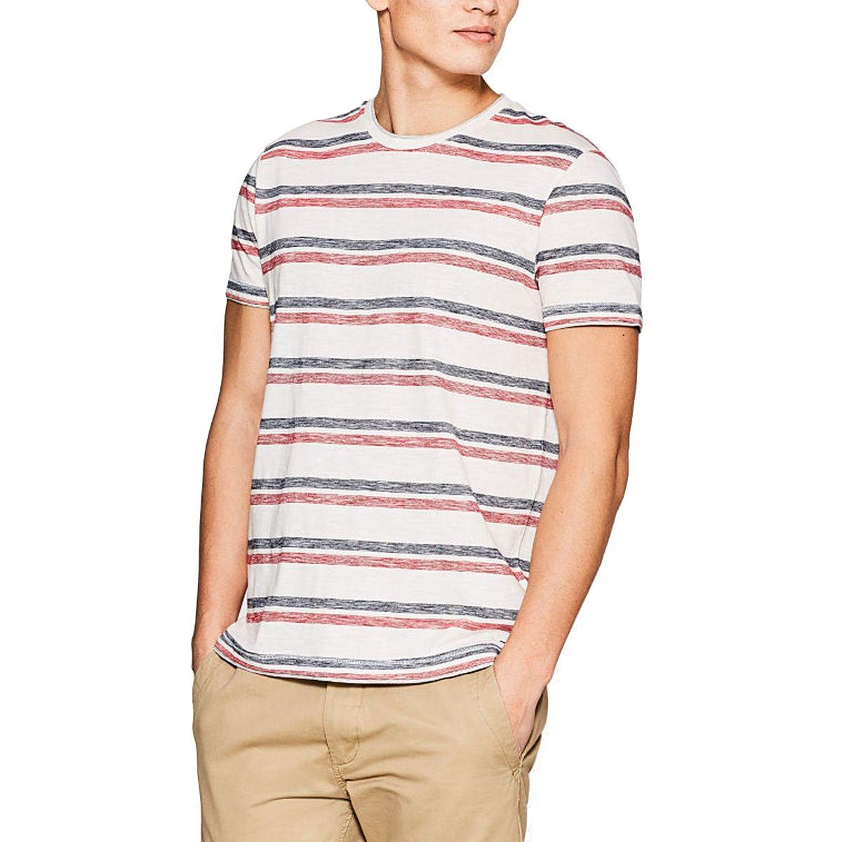 ESPRIT - Simple Striped Cotton T-Shirt