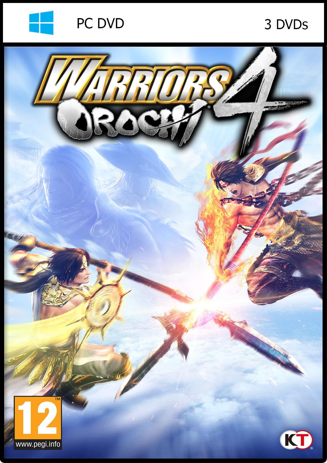 iBis Warriors Orochi 4 (3DVDs)