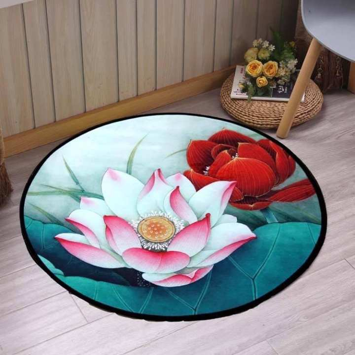 Sign Heart - Circle Shape Carpet
