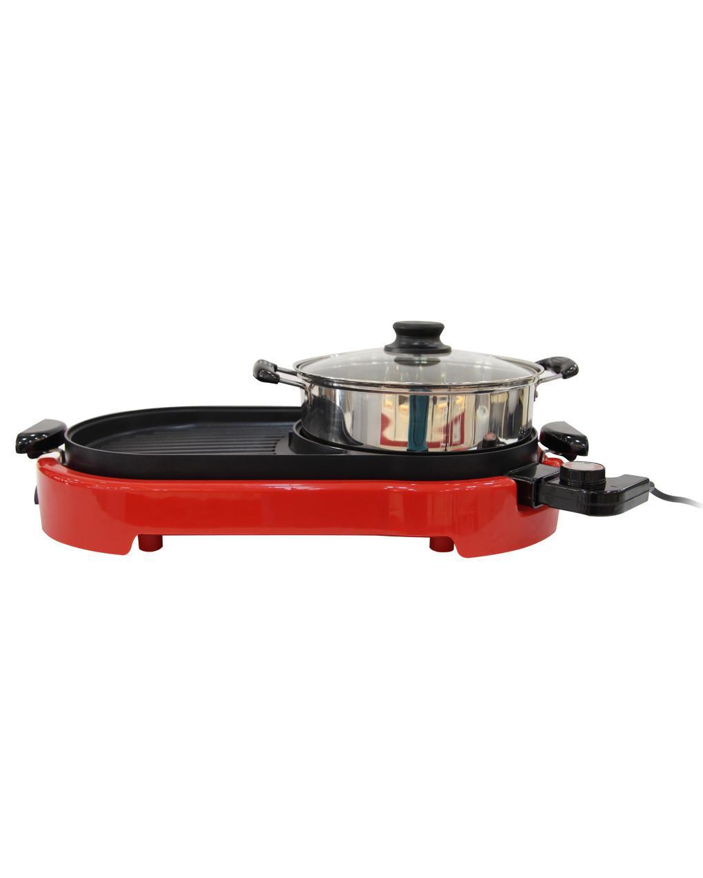 Nibban EG-001 Electric Grill ေဟာ့ေပါ့ႏွင့္အသားကင္စက္