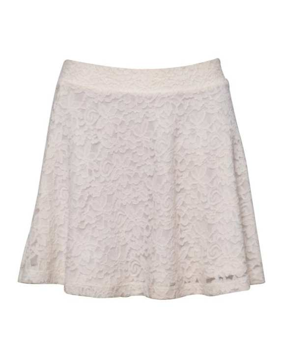Amorous Ladies' Short Skirt - Cream