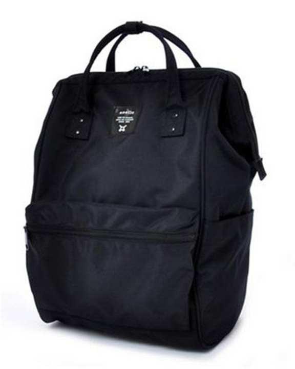 ANELLO Limited Edition All Black Back pack - Black (BK)