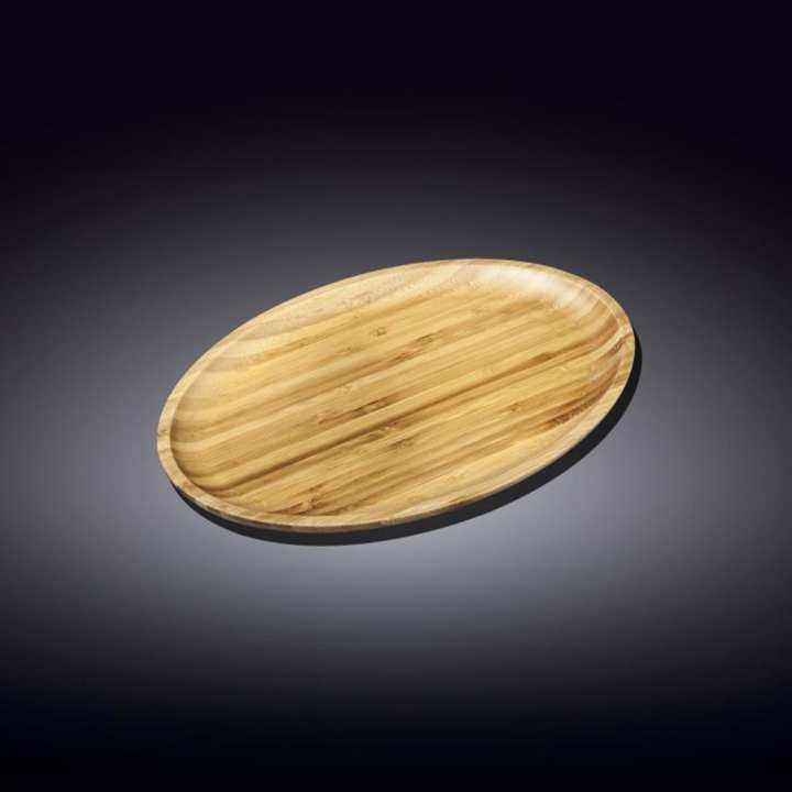 Wilmax Bamboo Oval Platter 8 x 4.5 inches