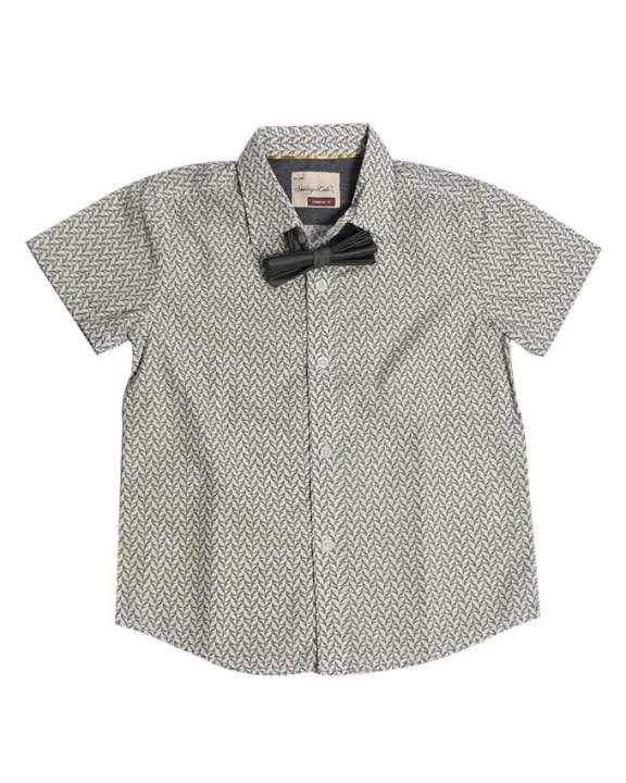 Line Leader Baby's Cloth - Grey