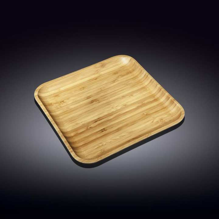 Wilmax Bamboo Plate 10 x 10 inches
