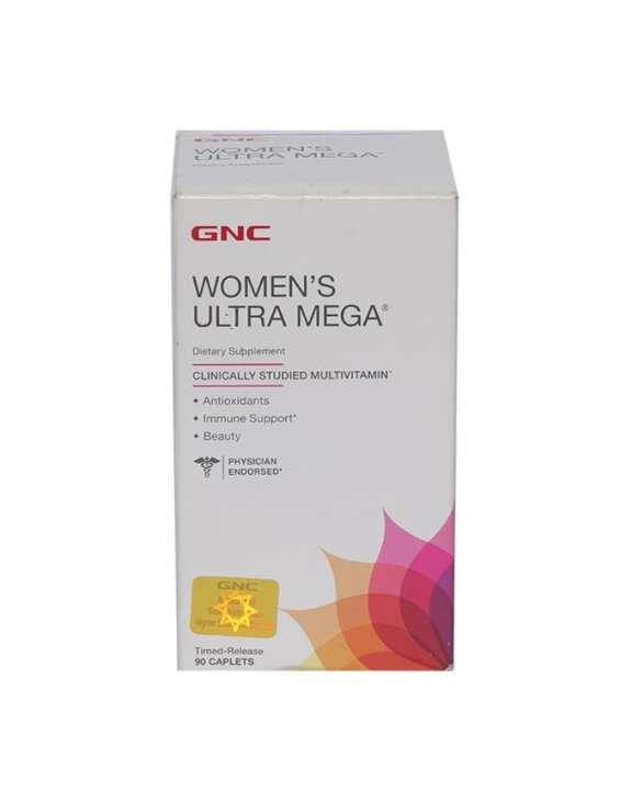 GNC Dietary Supplement Women's Ultra Mega - 90 Caplets
