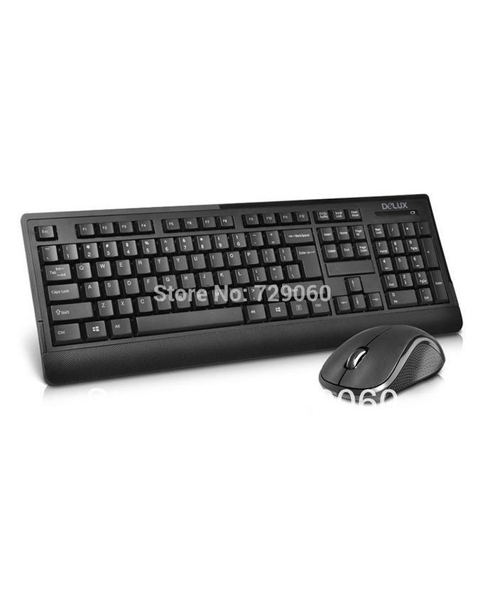 Matrix Delux multi colored k6010+m391 keyboard wireless home set wirele