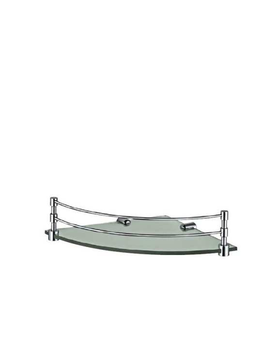 Jaquar ACN-1173 Corner Glass Shelf With Bracket