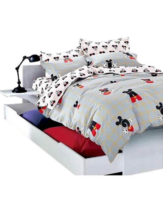 The Gift Bedding The Gift 4 Pieces Double Fitted with Quilt Cover (MS 50222)