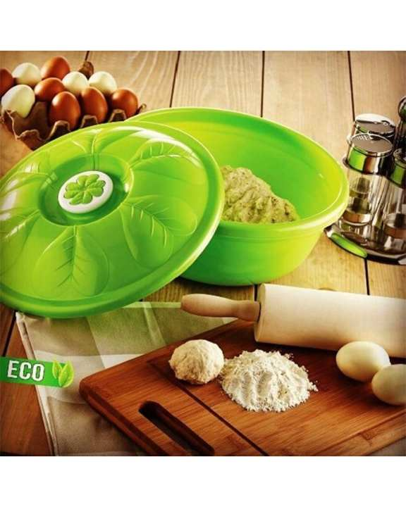 Asude Plastic Rice Bowl With Cover - 16.5 Liter