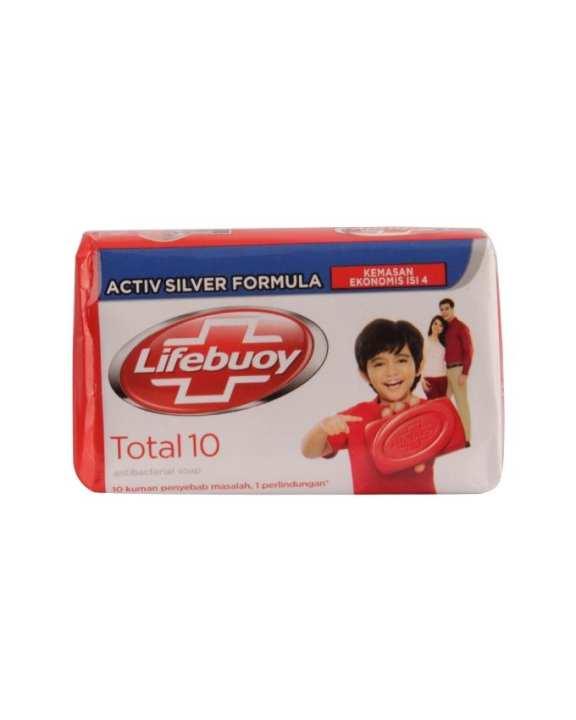 Lifebuoy Total 10 Anti-bacterial Soap (60g)