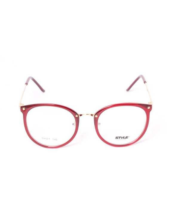STYLE Times new Roman eyeglasses for lady - Red