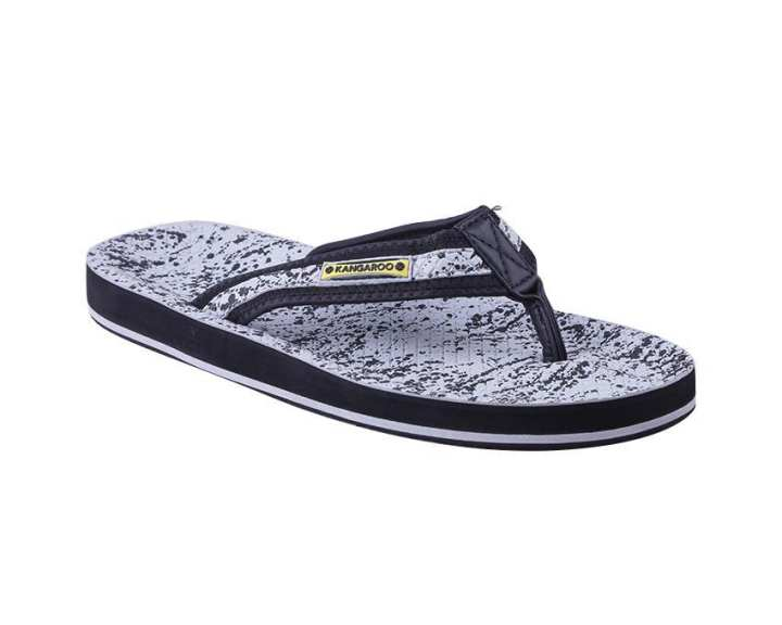 Kangaroo Man's Slippers – Grey