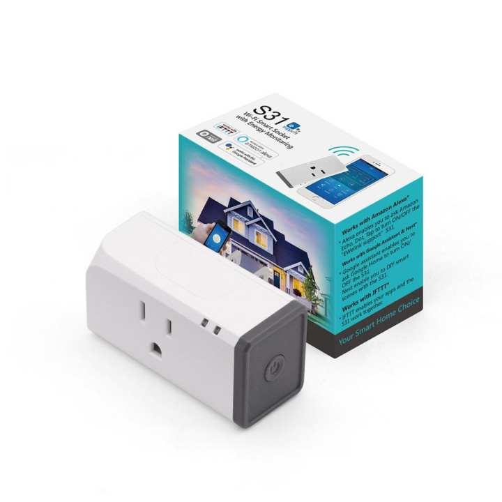 Sonoff S31 - Compact Design Smart Plug with Energy Monitoring
