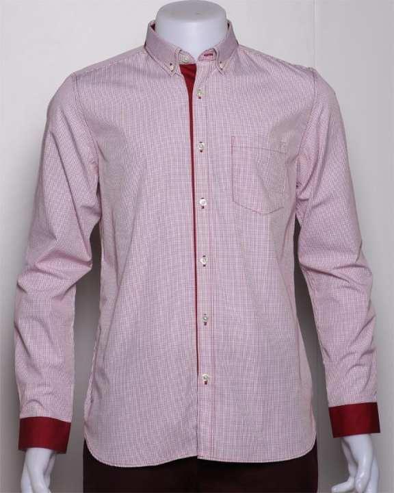 Morgan Men's Long Sleeve Shirt - Pink