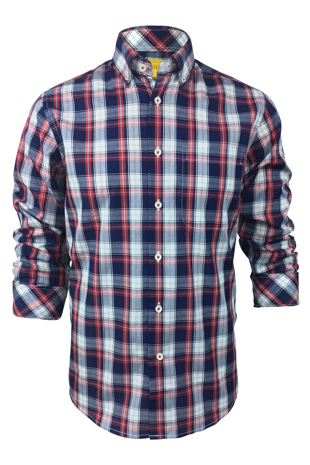 Able Men's Long Sleeve Shirt - Check