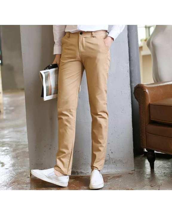 Infinity Men's Wear Style Pants - Beige