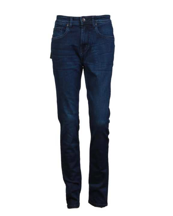 MC JEANS Men's Denim Long Pants - Dark Blue