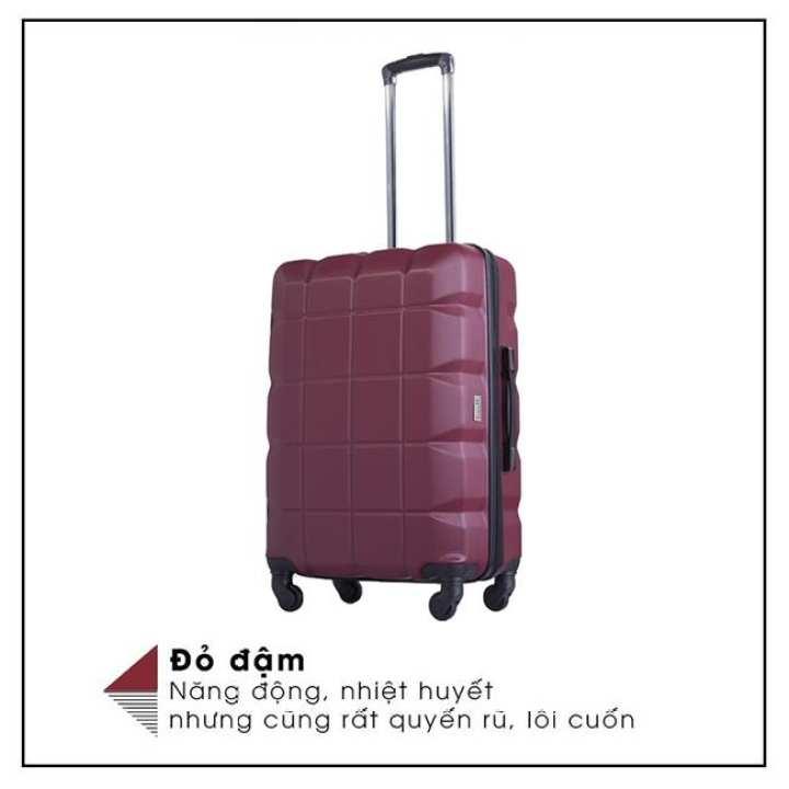 "Lusetti Lusetti Luggage Red Color 24"""