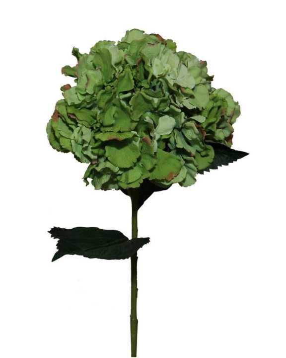 Living Square Artificial Flower - Green
