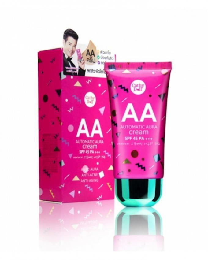 Cathy Doll AA Automatic Aura Cream SPF45 PA+++ 50g