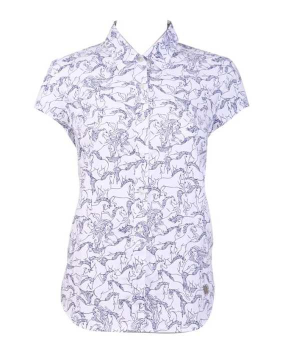 MC JEANS Men's Short Sleeves Shirt - White