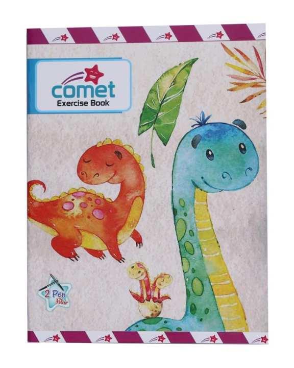 Comet Cartoon 2 Pen 1Pk 80 Pages