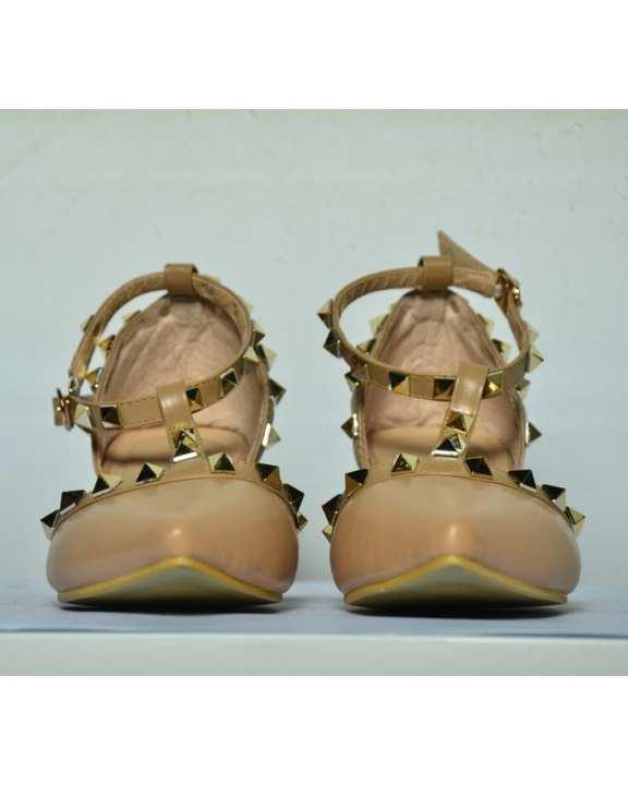 Shuberry Women's Classy Shoes - Beige