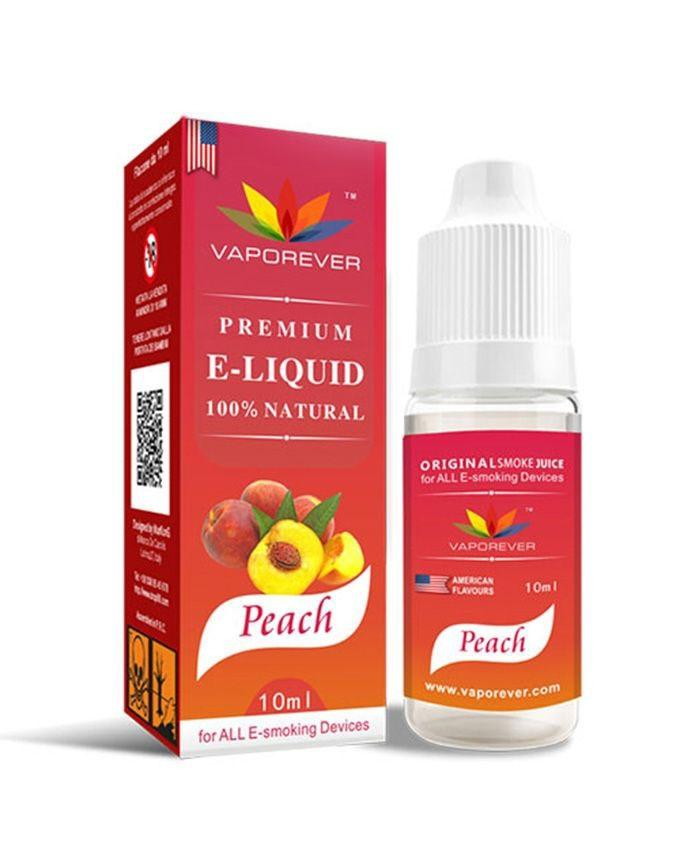 The Vapor Vaporever Premium E-liquid – Peach