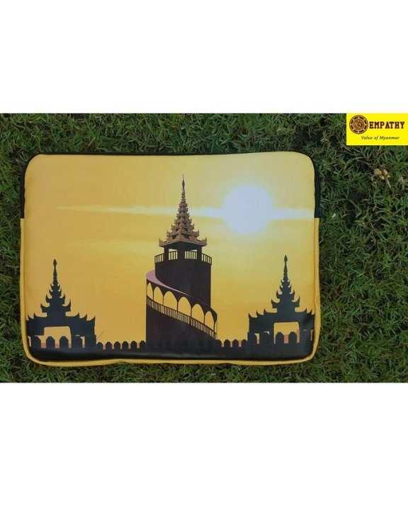 "EMPATHY Mandalay City Design Laptop Sleeve (16"" x 11"")"