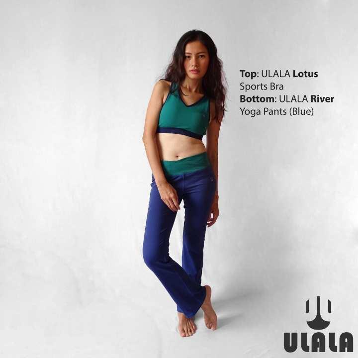 ULALA River Yoga Pants (Blue)