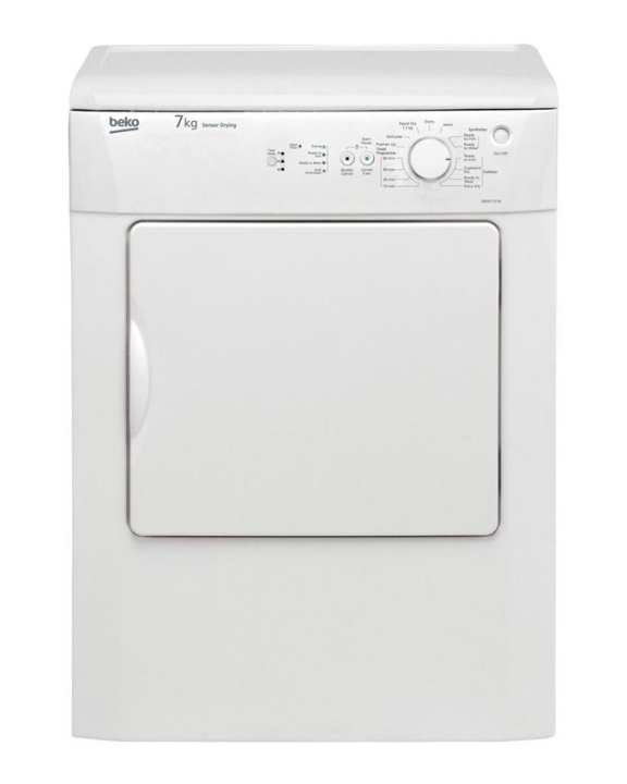 Beko DRVS73W Freestanding Vented Tumble Dryer (7Kg) - White