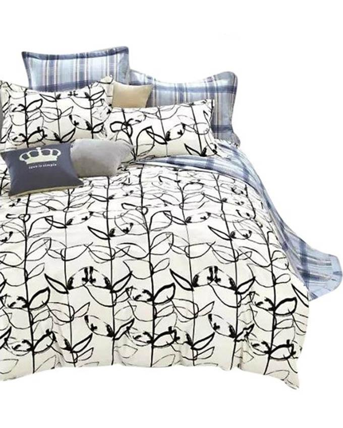 The Gift Bedding The Gift 4 Pieces Double Fitted with Quilt Cover (MS 50211)