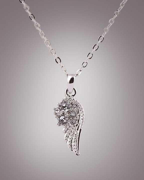 Swarovski Classic wing design necklace - Cry (001)